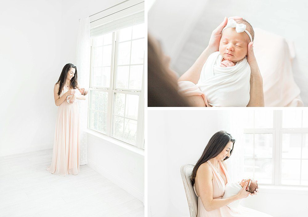 Fort Worth Studio Newborn Session