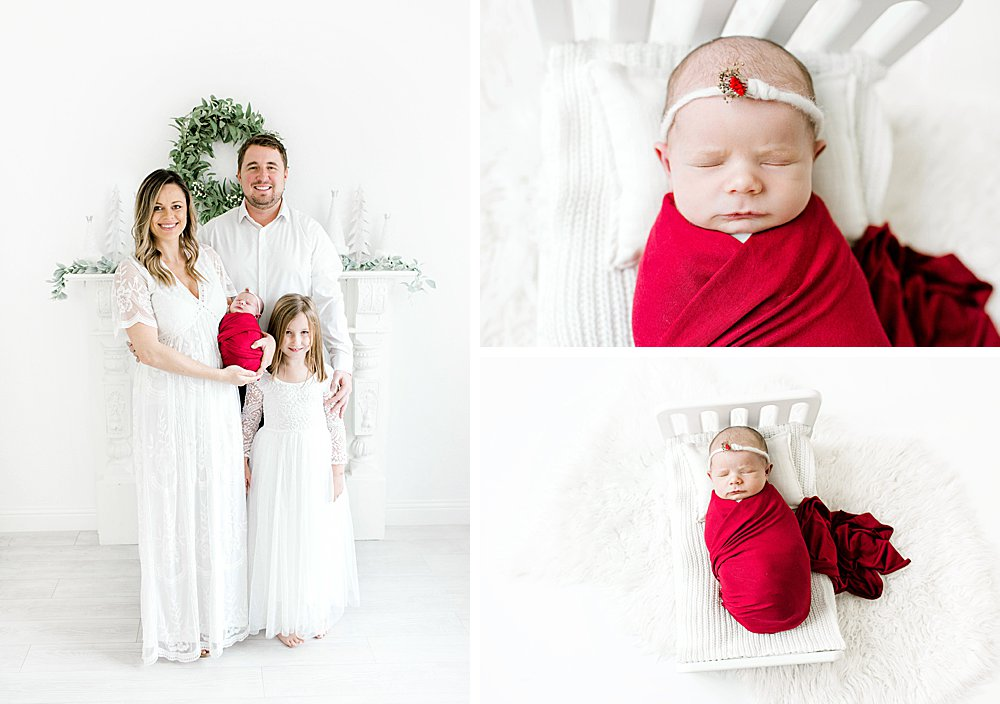 Christmas Newborn Session