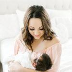 Fort Worth Studio Newborn Session I Baby Brinley