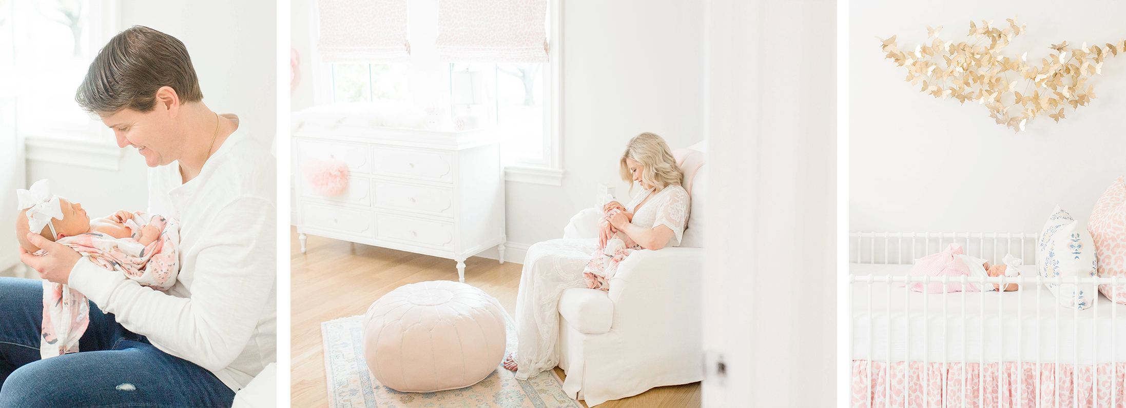 dallas in-home newborn photographer