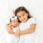 Big Sister with Newborn Baby Girl I Baby Olivia