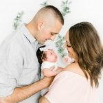 One Month Lifestyle Newborn Session I Baby Brinley